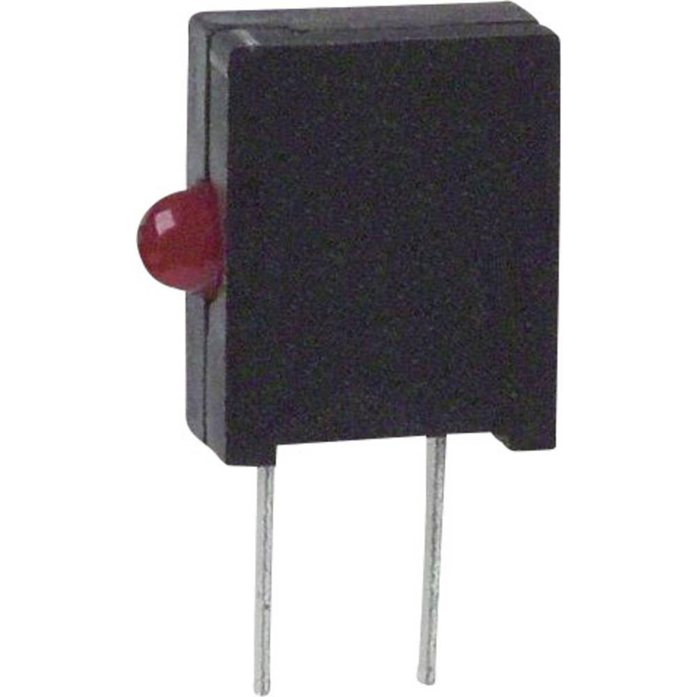 LED-komponent Dialight (L x B x H) 10.03 x 6.22 x 2.54 mm Rød