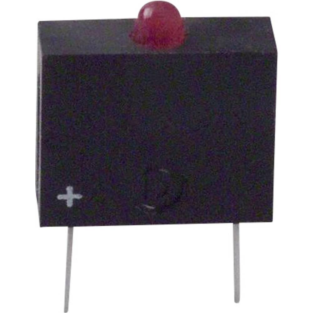 LED-komponent Dialight (L x B x H) 10.17 x 7.62 x 2.54 mm Rød