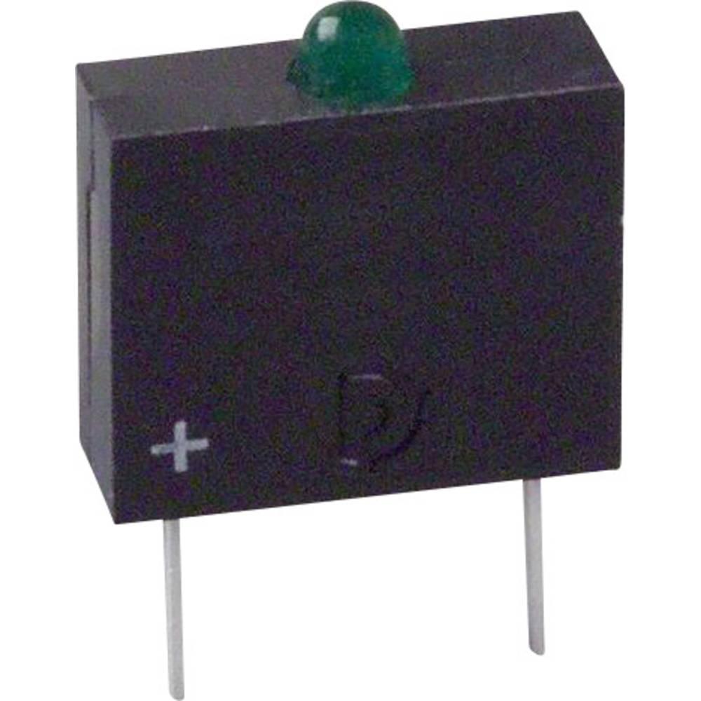 LED-komponent Dialight (L x B x H) 10.17 x 7.62 x 2.54 mm Grøn