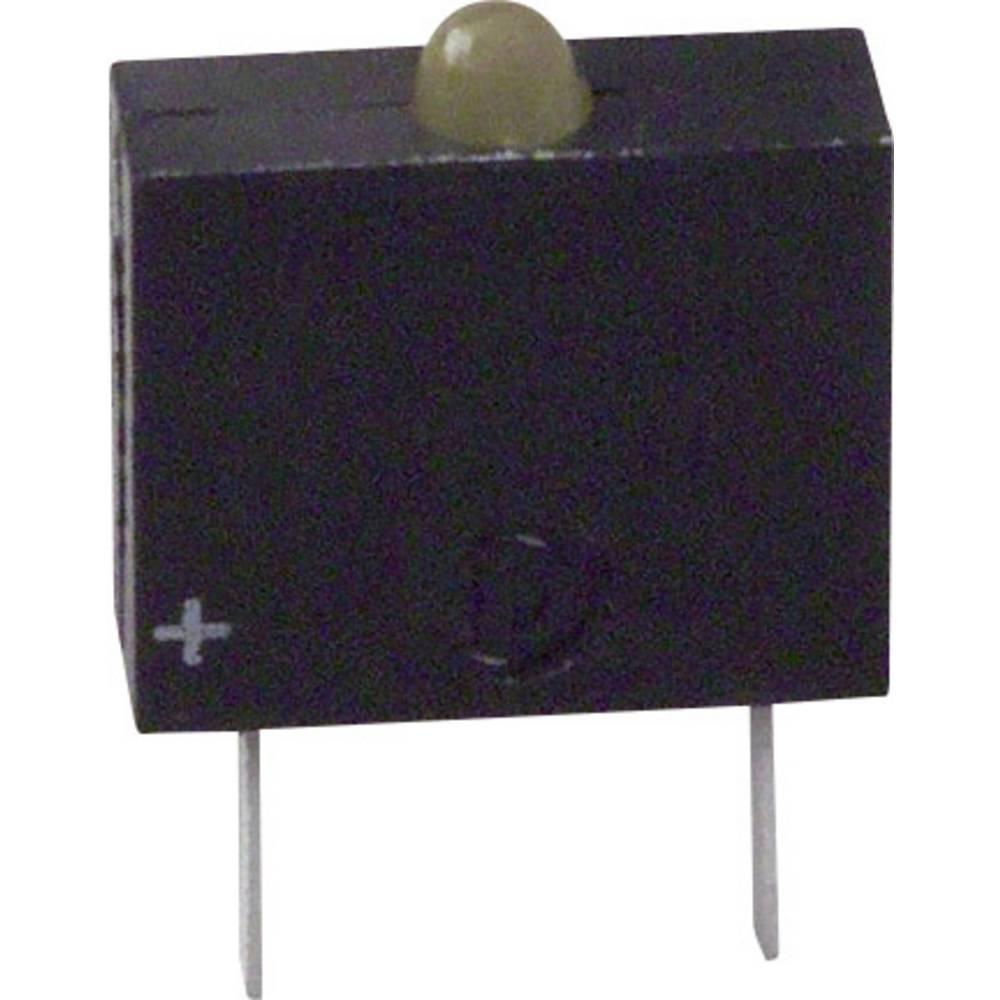 LED-Baustein (value.1317427) Dialight (L x B x H) 10.17 x 7.62 x 2.54 mm Gul