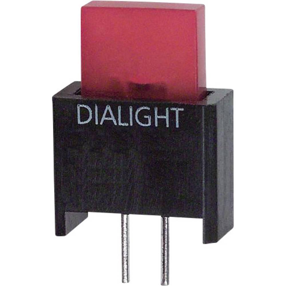 LED-komponent Dialight (L x B x H) 17.18 x 9.91 x 4.75 mm Rød