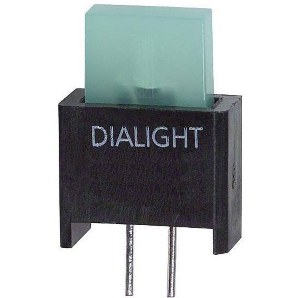 LED-Baustein (value.1317427) Dialight (L x B x H) 17.18 x 9.91 x 4.75 mm Grøn