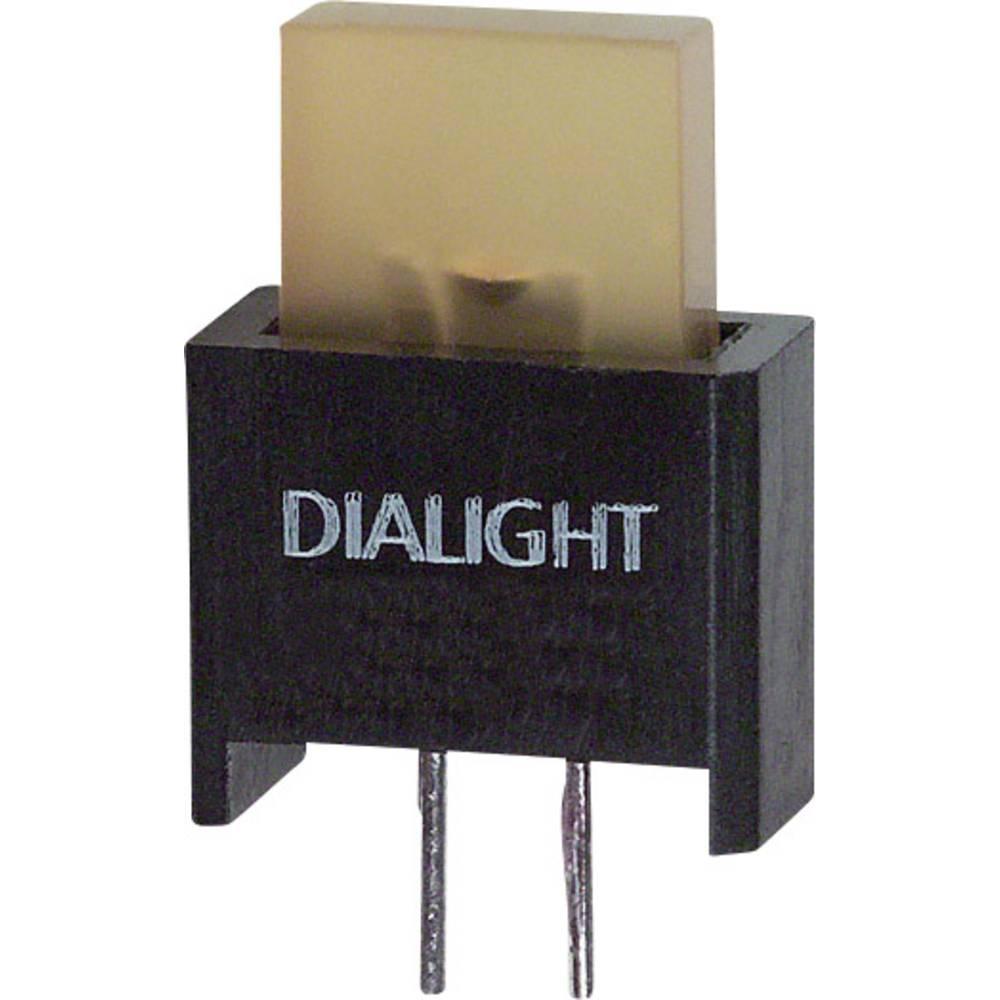 LED-komponent Dialight (L x B x H) 17.18 x 9.91 x 4.75 mm Gul
