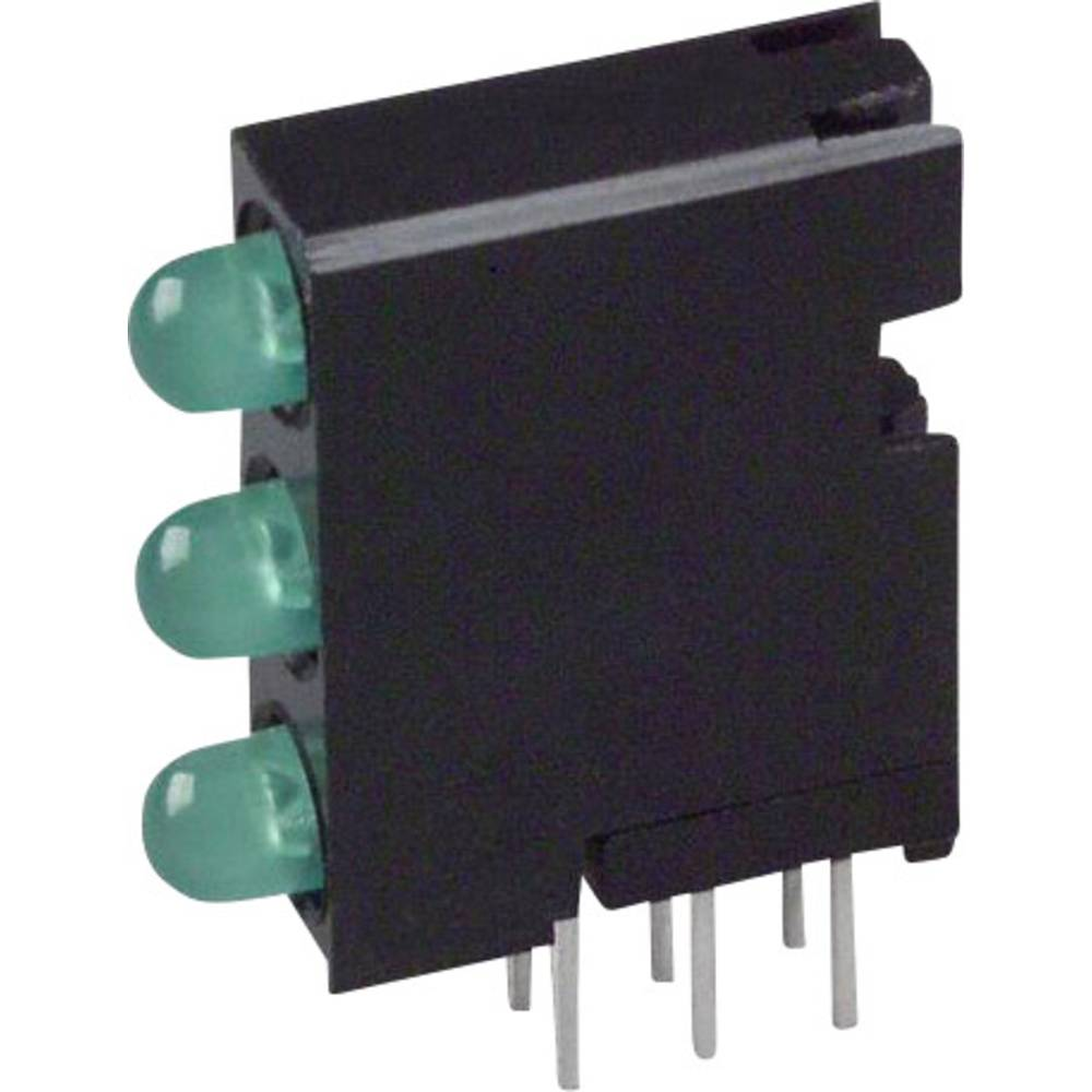 LED-Baustein (value.1317427) Dialight (L x B x H) 18.92 x 14.32 x 4.32 mm Grøn