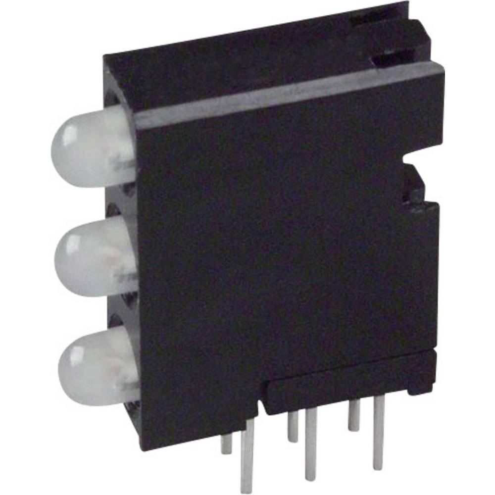 LED-Baustein (value.1317427) Dialight (L x B x H) 18.92 x 14.32 x 4.32 mm Grøn, Rød