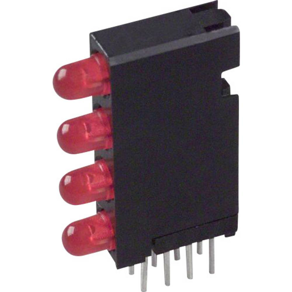 LED-Baustein (value.1317427) Dialight (L x B x H) 24 x 14.35 x 4.32 mm Rød