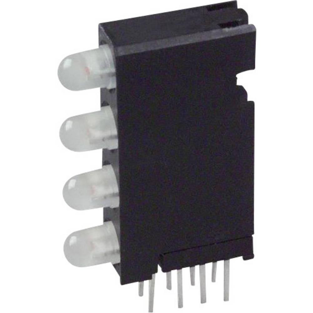 LED-Baustein (value.1317427) Dialight (L x B x H) 24 x 14.35 x 4.32 mm Grøn, Rød