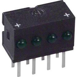 LED-Reihe (value.1317426) Dialight 555-4301F (L x B x H) 10.29 x 10.03 x 6.22 mm Grøn