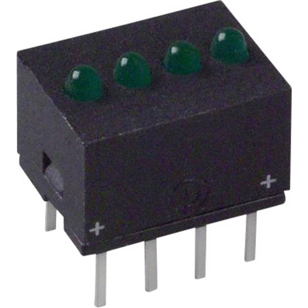 LED bånd Dialight (L x B x H) 10.29 x 10.17 x 7.77 mm Grøn