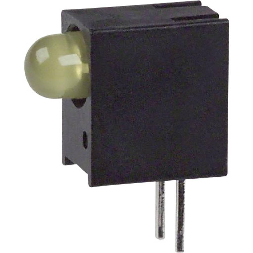 LED-komponent Dialight 551-0307F (L x B x H) 10.78 x 8.89 x 4.32 mm Gul