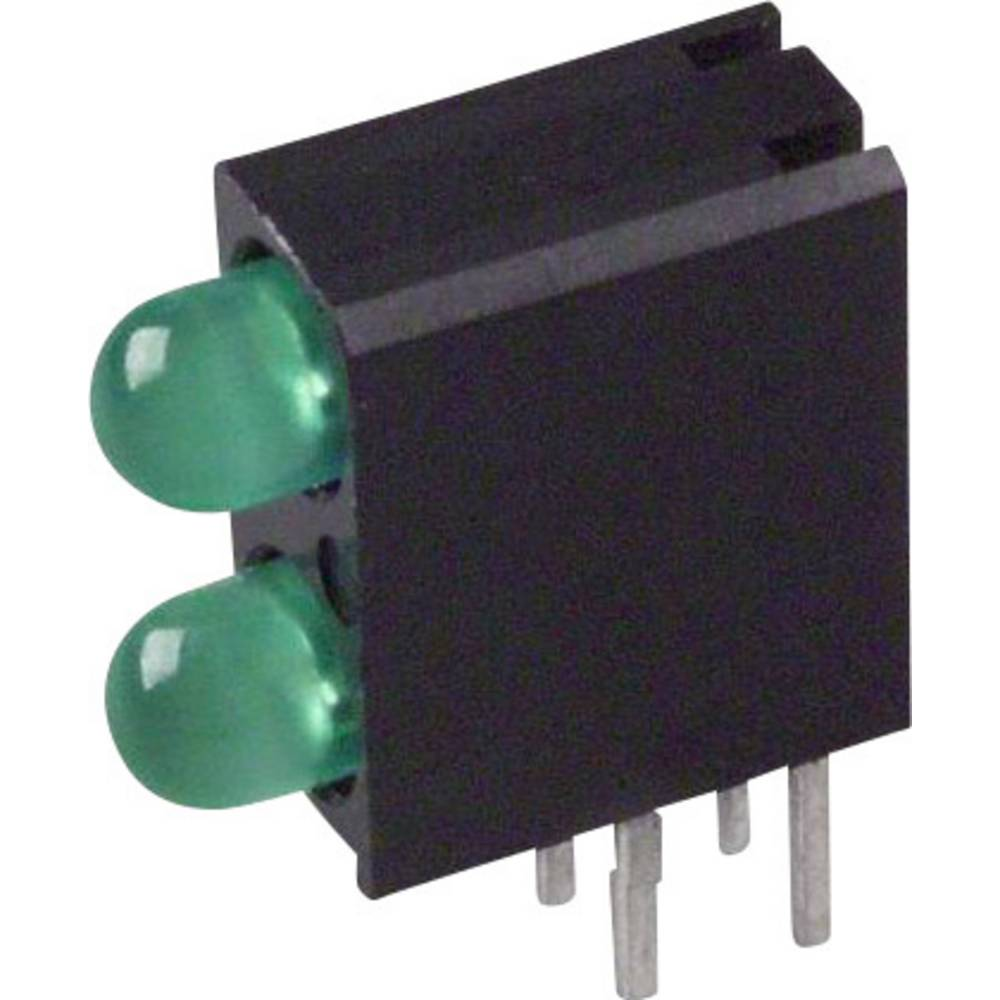 LED-komponent Dialight (L x B x H) 13.33 x 10.73 x 4.32 mm Grøn