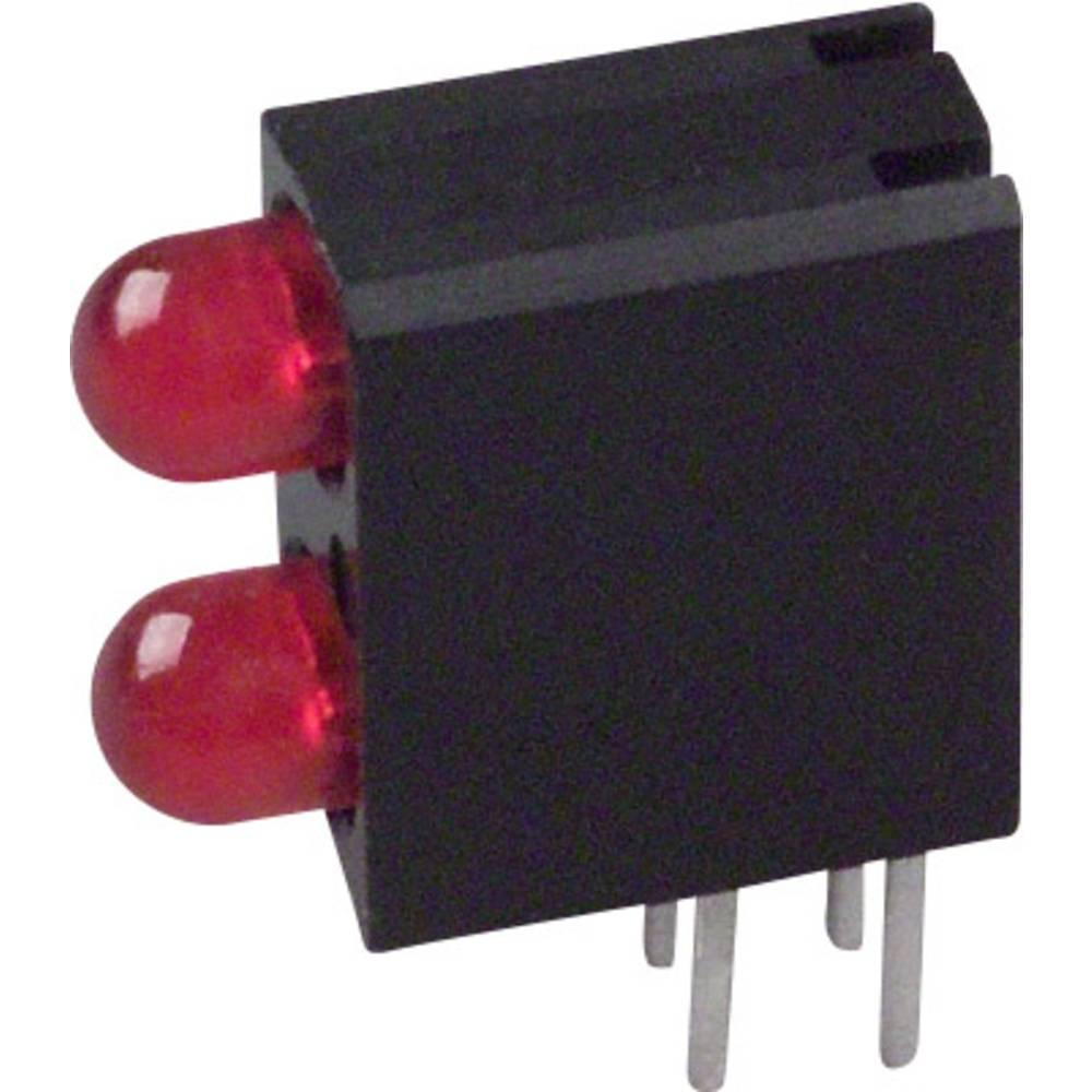 LED-Baustein (value.1317427) Dialight (L x B x H) 13.33 x 10.73 x 4.32 mm Rød