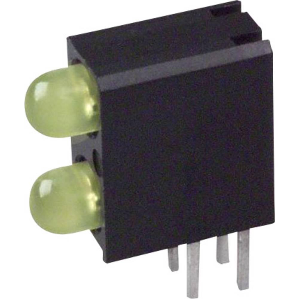LED-komponent Dialight (L x B x H) 13.33 x 10.73 x 4.32 mm Gul