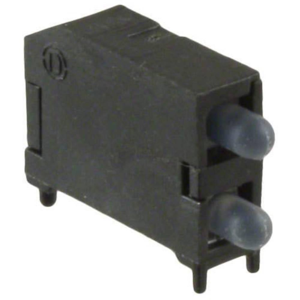 LED-komponent Dialight (L x B x H) 16.89 x 11.56 x 4.57 mm Grøn, Gul