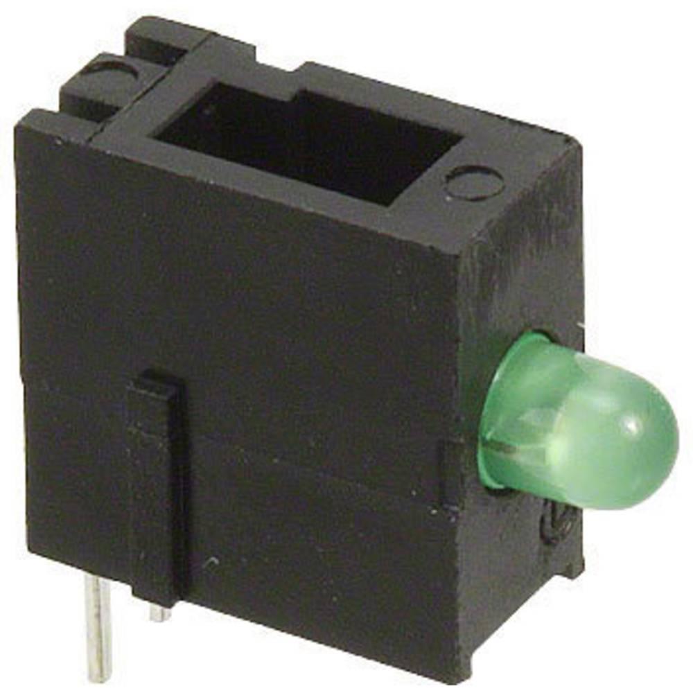 LED-Baustein (value.1317427) Dialight (L x B x H) 13.35 x 13.2 x 5 mm Grøn