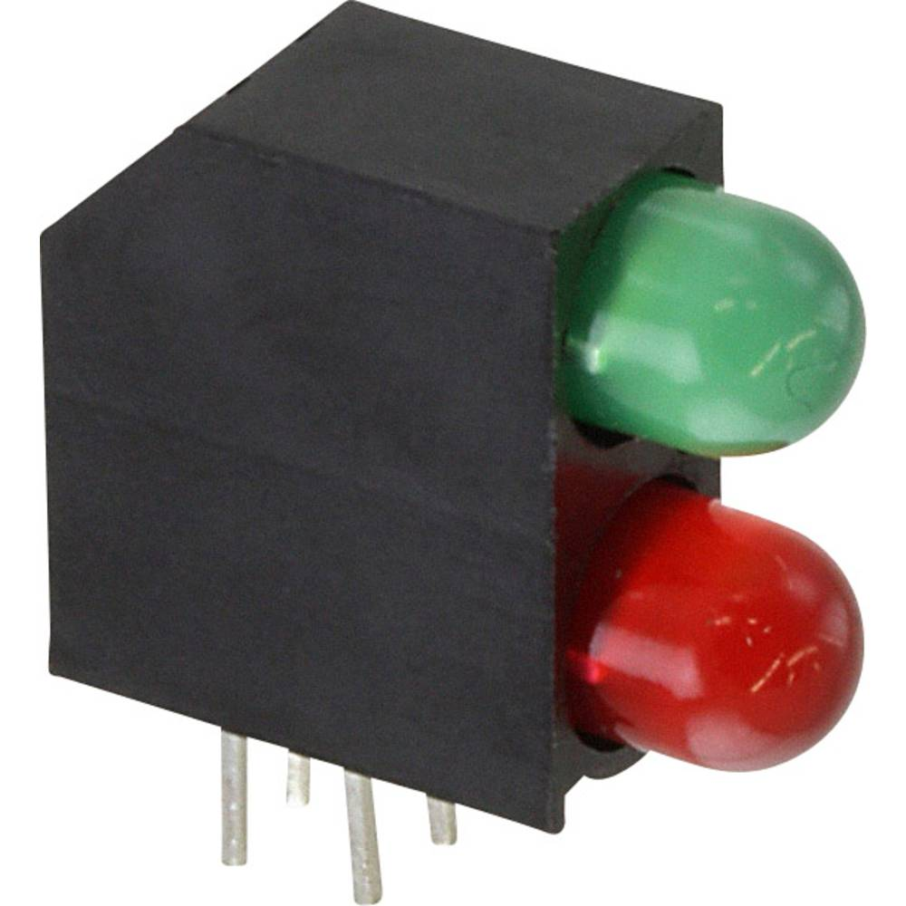 LED-Baustein (value.1317427) Dialight (L x B x H) 16.2 x 15.49 x 5.97 mm Grøn, Rød