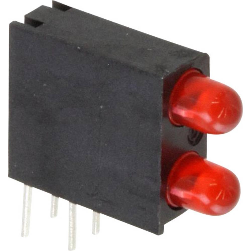 LED-komponent Dialight (L x B x H) 14.06 x 13.33 x 4.32 mm Rød