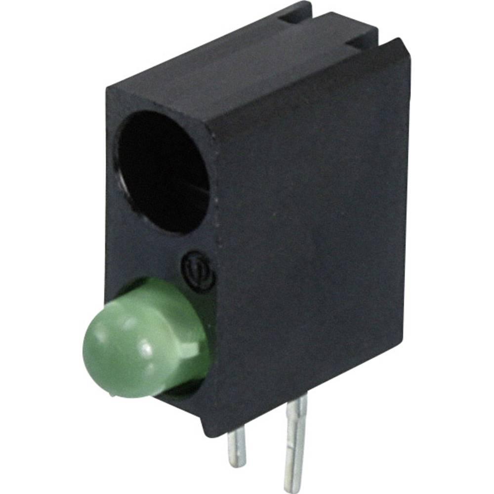 LED-komponent Dialight (L x B x H) 13.33 x 11 x 4.32 mm Grøn