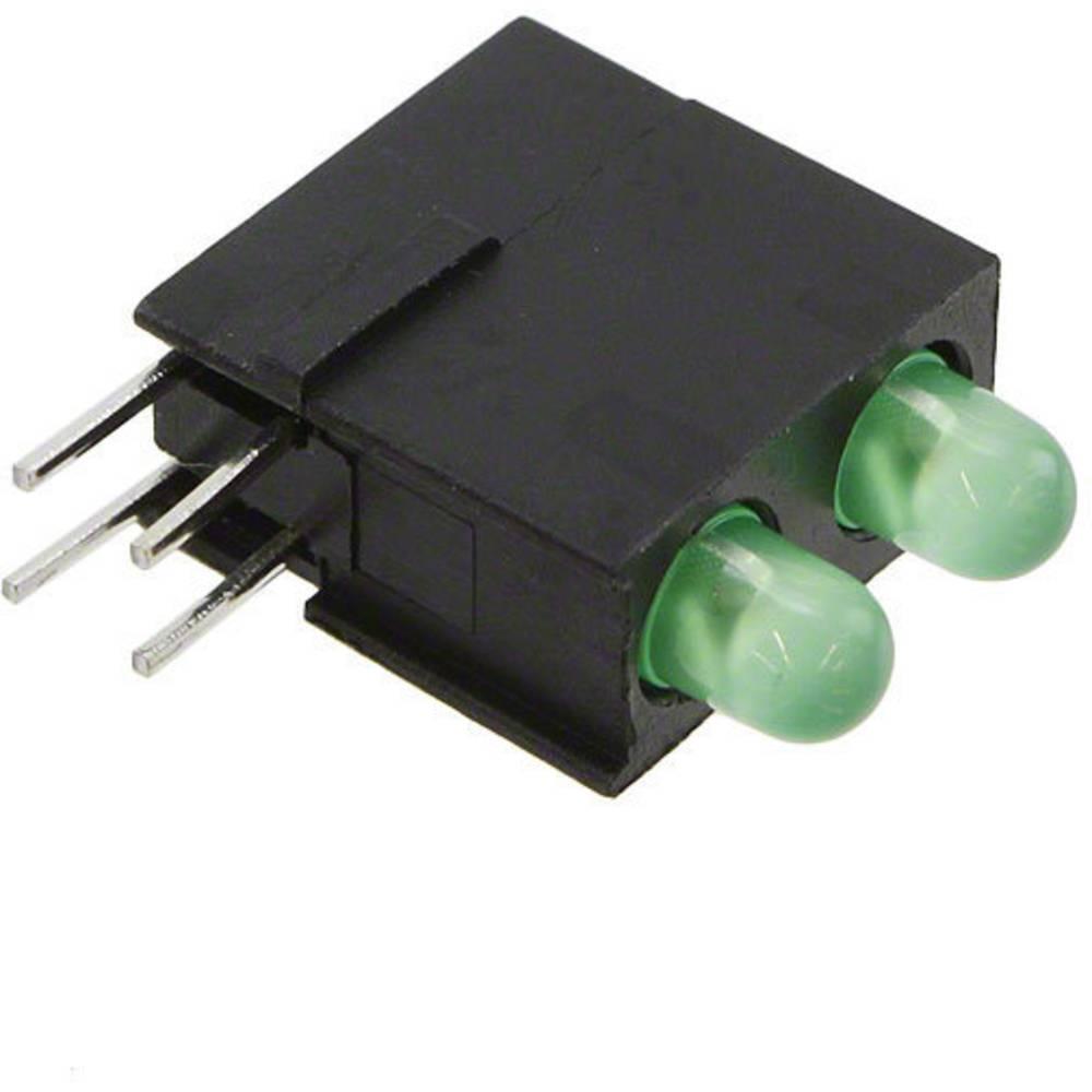 LED-Baustein (value.1317427) Dialight Grøn