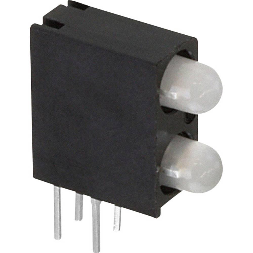 LED-Baustein (value.1317427) Dialight (L x B x H) 13.33 x 10.75 x 4.32 mm Grøn, Rød, Gul