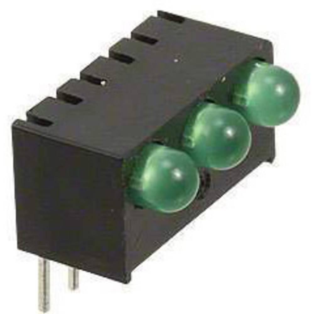 LED-Reihe (value.1317426) Dialight (L x B x H) 13.55 x 10.78 x 9.02 mm Grøn