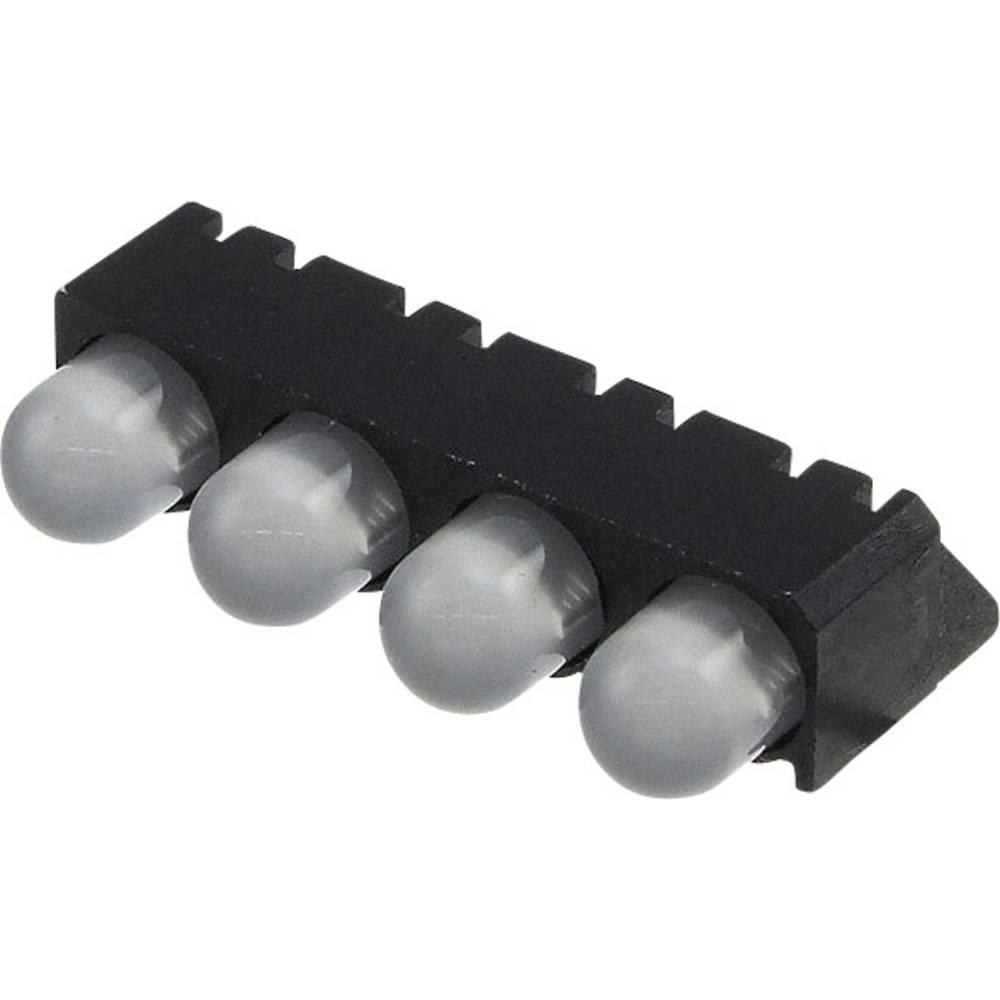 LED-komponent Dialight (L x B x H) 25 x 14.01 x 9.65 mm Grøn, Rød
