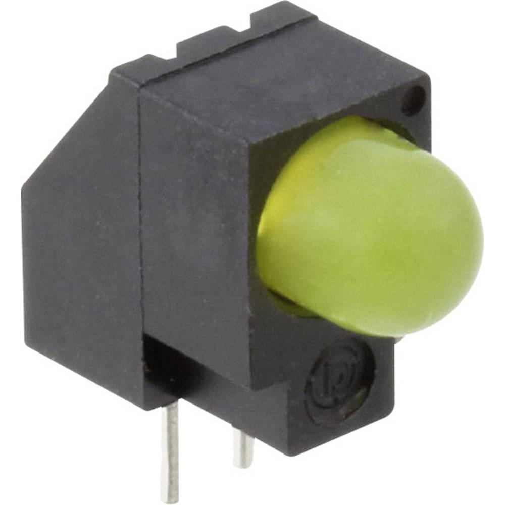 LED-komponent Dialight (L x B x H) 13.62 x 13.08 x 6.1 mm Gul