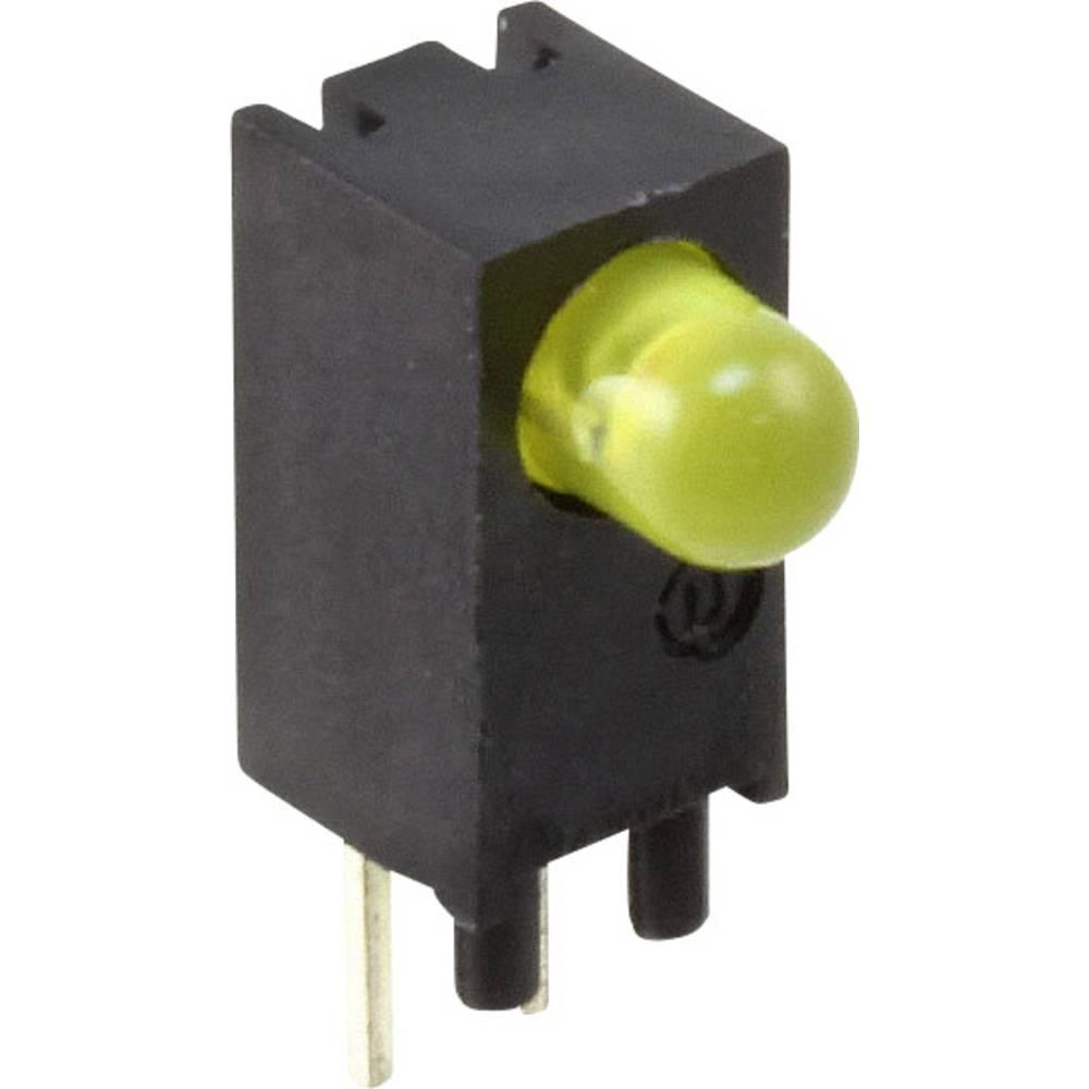 LED-komponent Dialight (L x B x H) 12.28 x 8.2 x 4.6 mm Gul