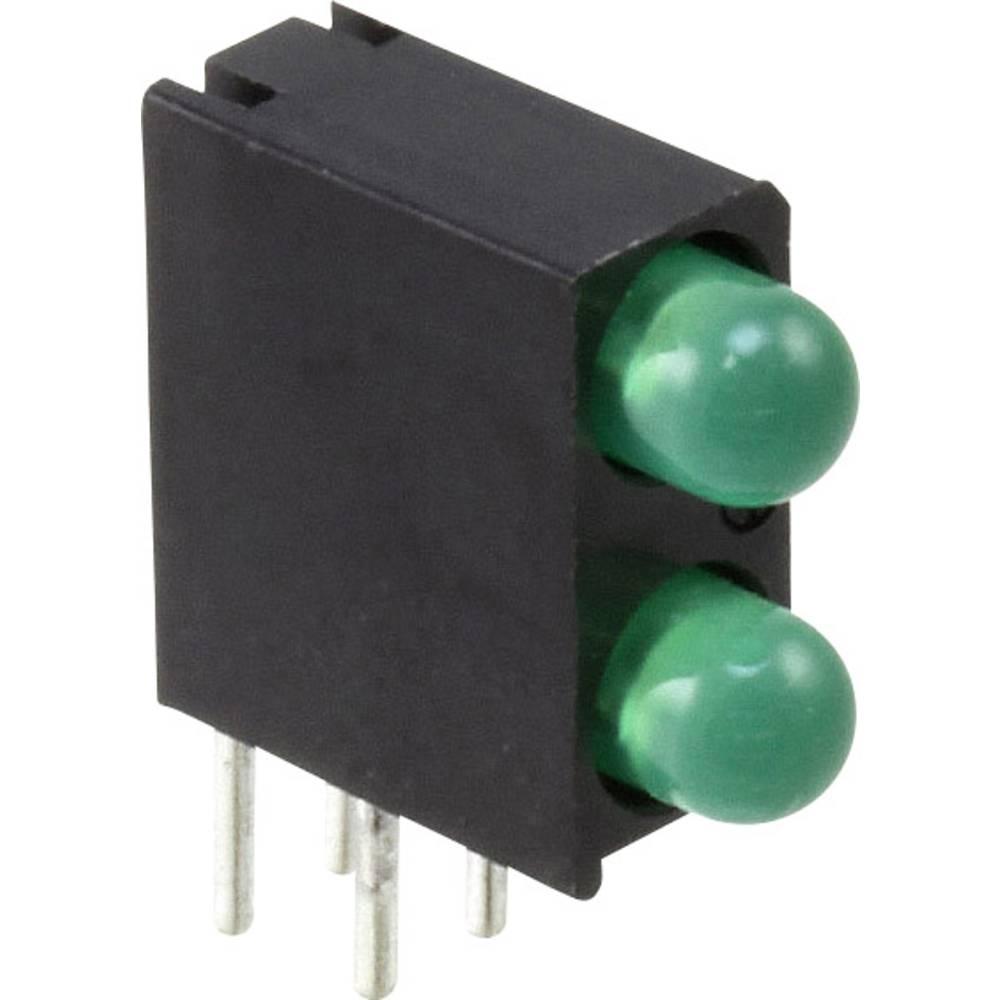 LED-Reihe (value.1317426) Dialight Grøn