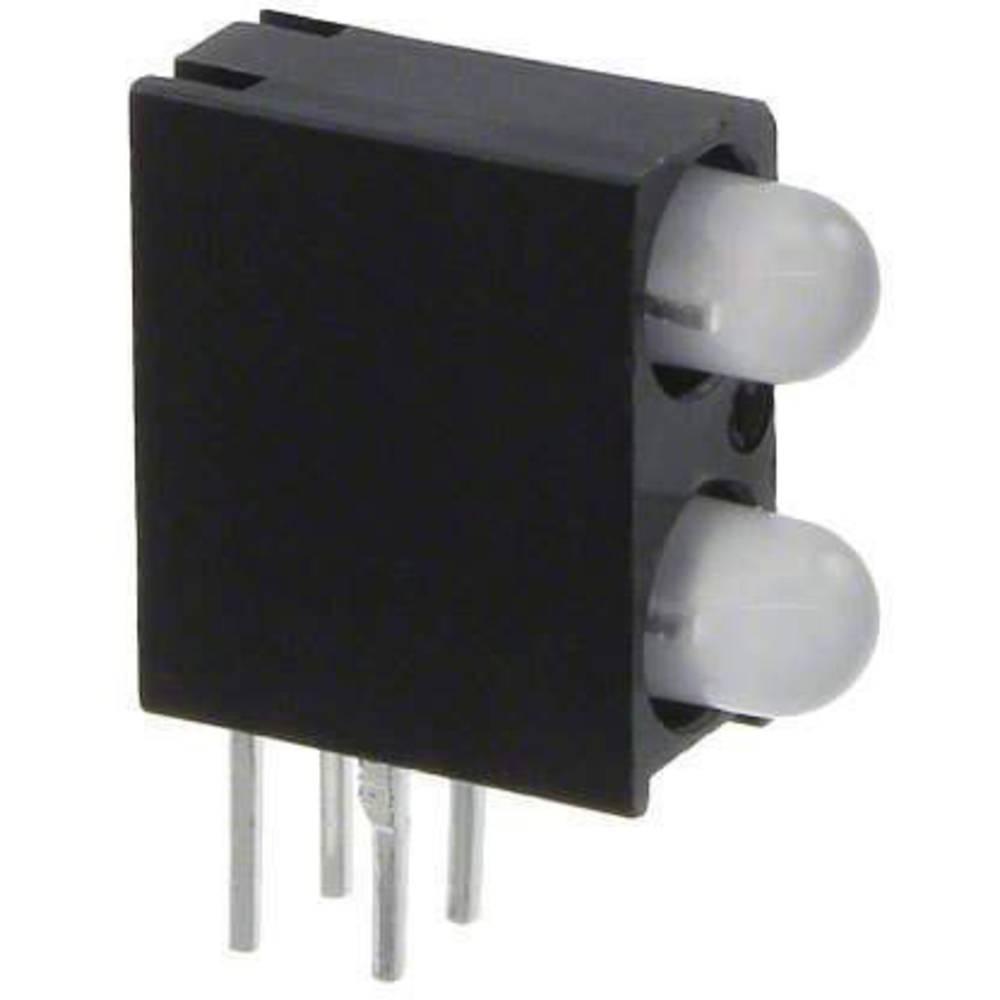 LED-komponent Dialight (L x B x H) 13.33 x 10.74 x 4.32 mm Gul, Grøn, Blå
