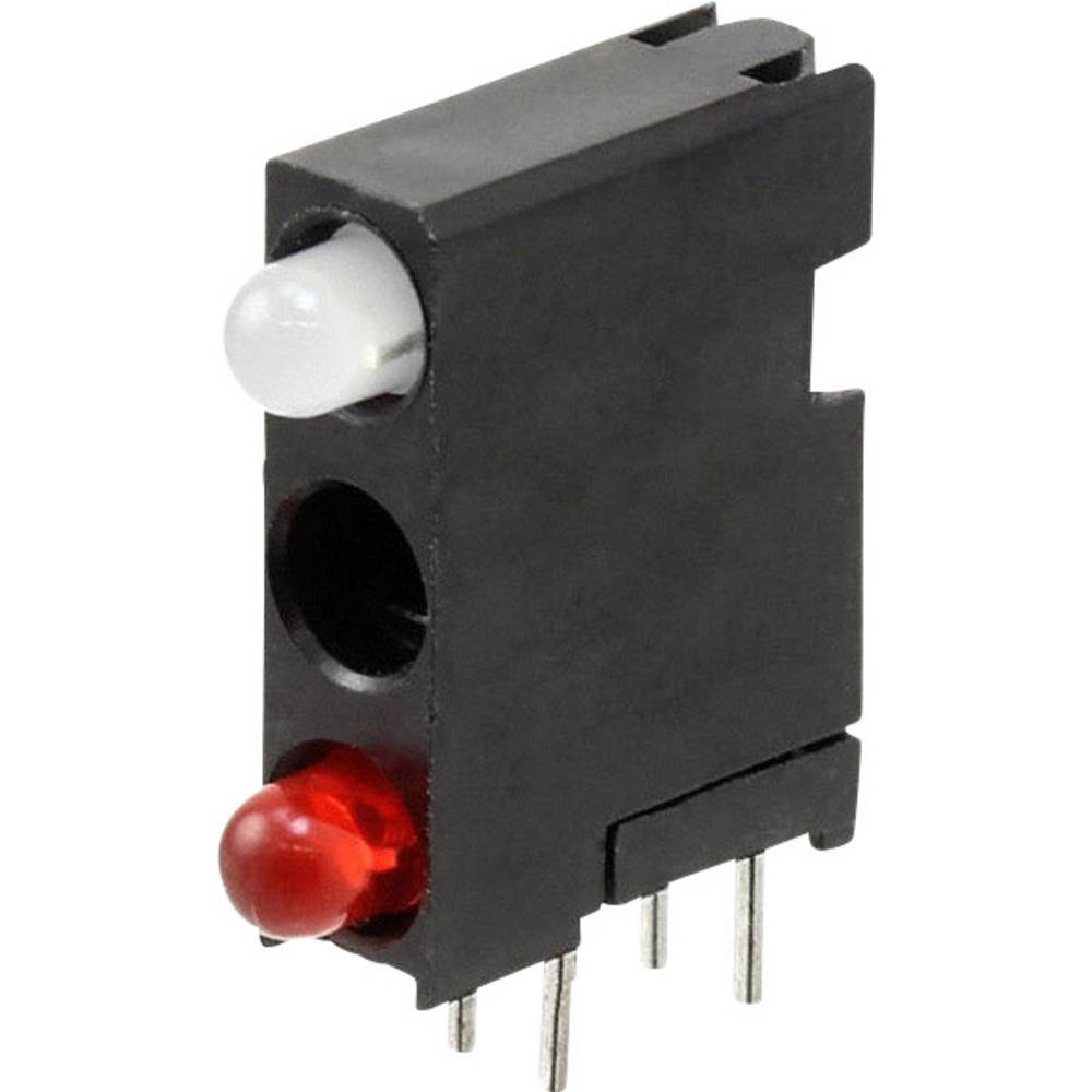 LED-Baustein (value.1317427) Dialight (L x B x H) 18.29 x 14.32 x 4.32 mm Rød, Grøn, Rød
