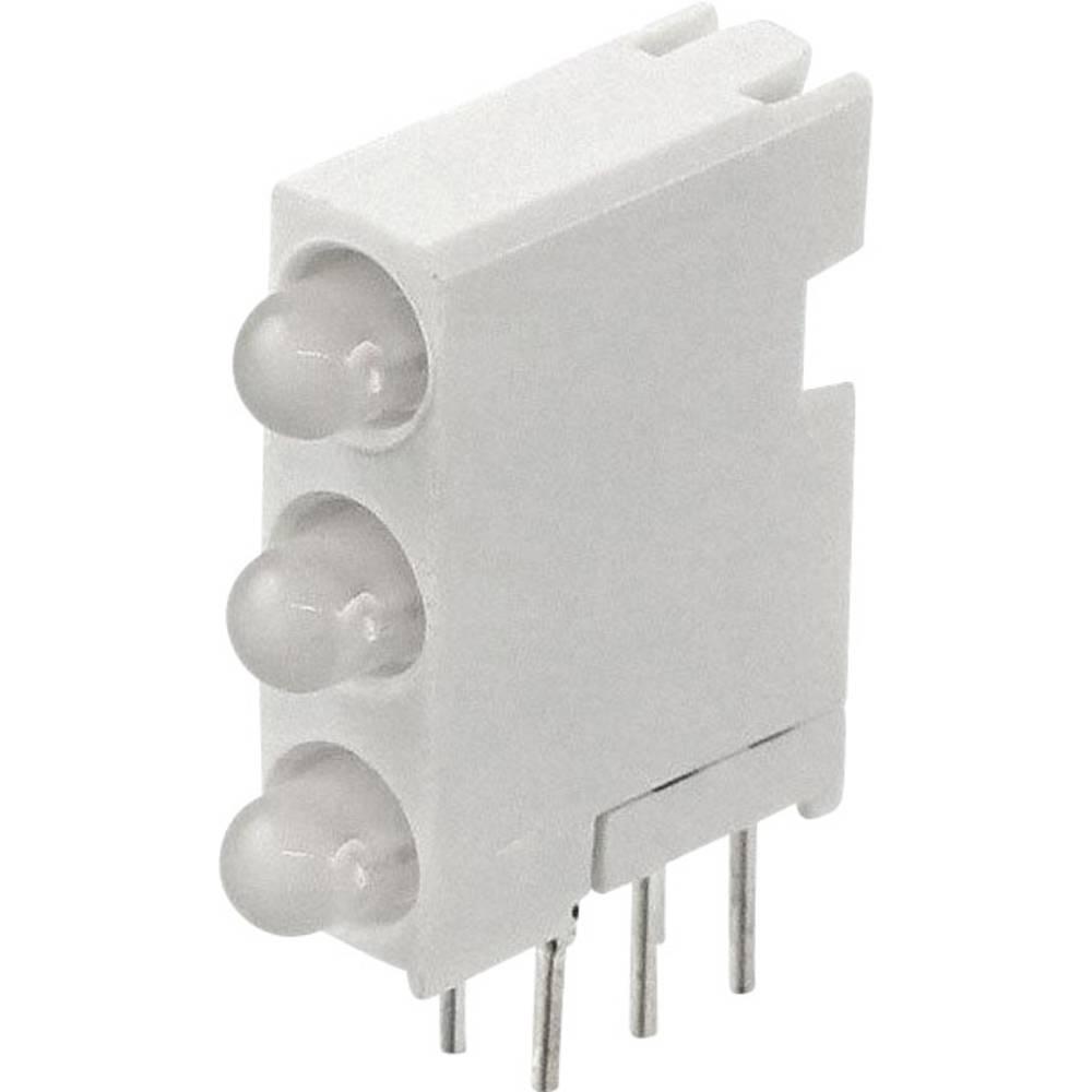 LED-Baustein (value.1317427) Dialight (L x B x H) 18.92 x 14.32 x 4.32 mm Grøn, Gul