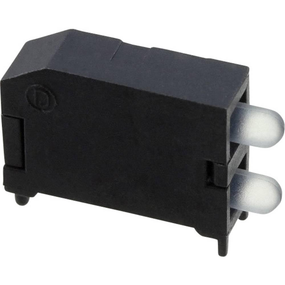 LED-Baustein (value.1317427) Dialight (L x B x H) 16.89 x 11.56 x 4.57 mm Orange