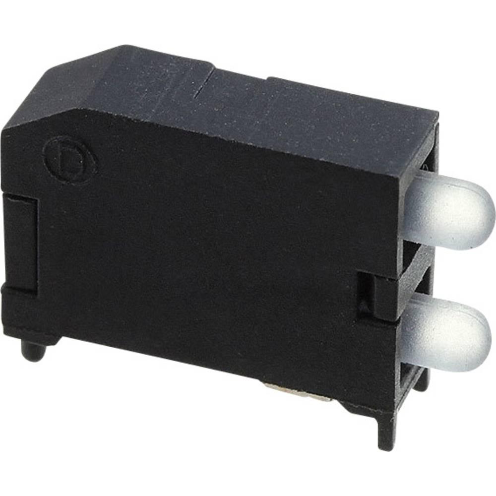 LED-komponent Dialight (L x B x H) 16.89 x 11.56 x 4.57 mm Gul
