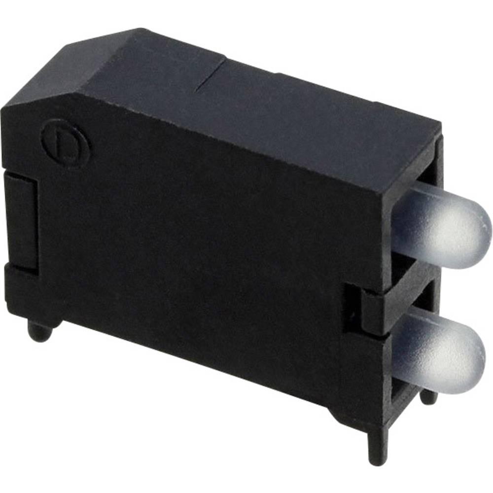 LED-Baustein (value.1317427) Dialight (L x B x H) 16.89 x 11.56 x 4.57 mm Grøn, Gul