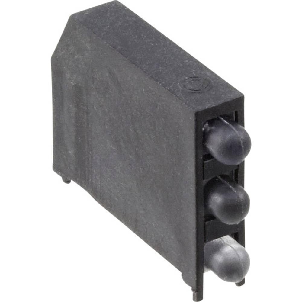 LED-komponent Dialight (L x B x H) 22.61 x 16.08 x 4.32 mm Rød