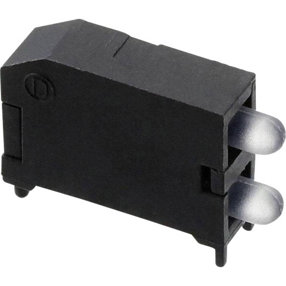 LED-komponent Dialight (L x B x H) 16.89 x 11.56 x 4.57 mm Grøn