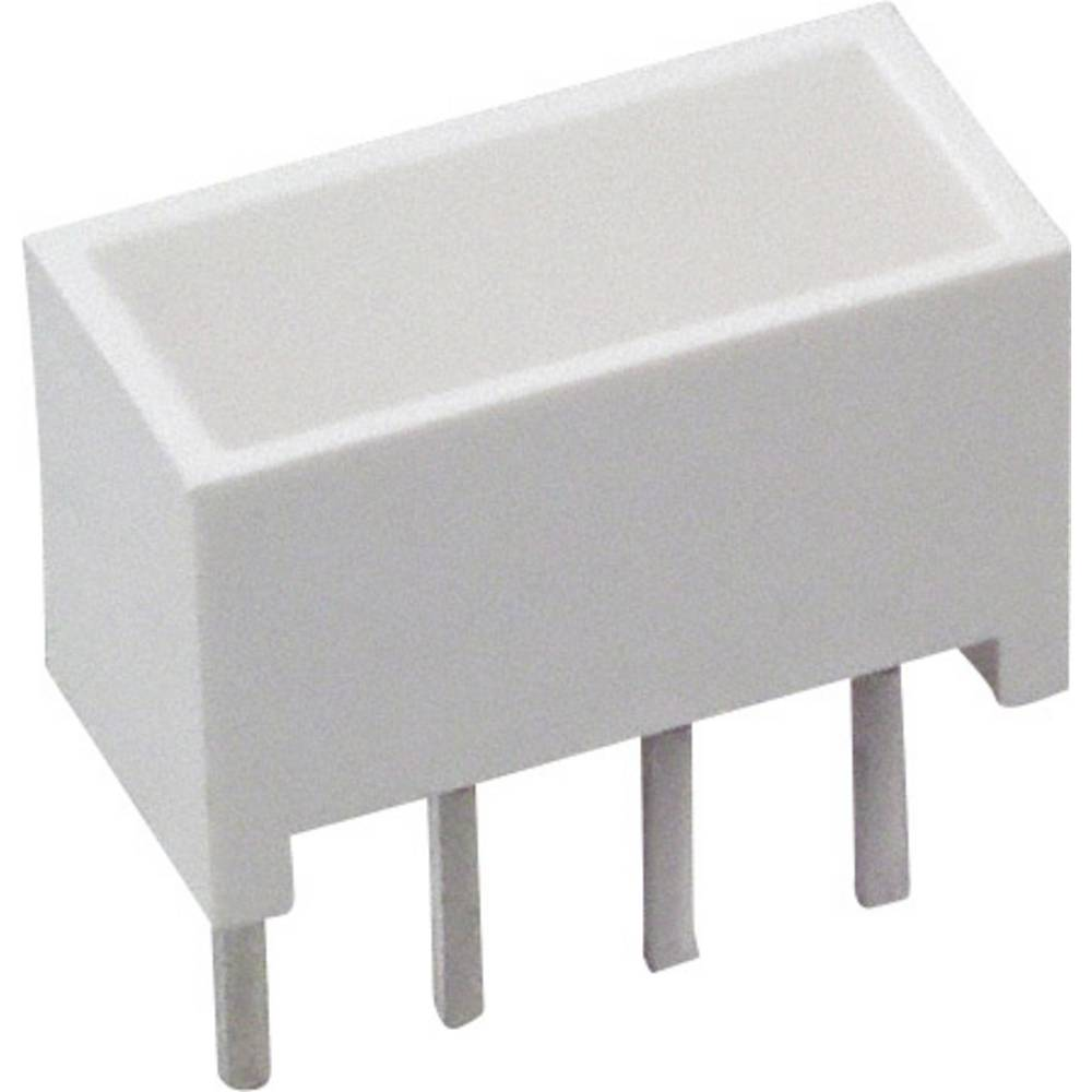 LED-Baustein (value.1317427) Broadcom (L x B x H) 10.28 x 10.16 x 4.95 mm Rød