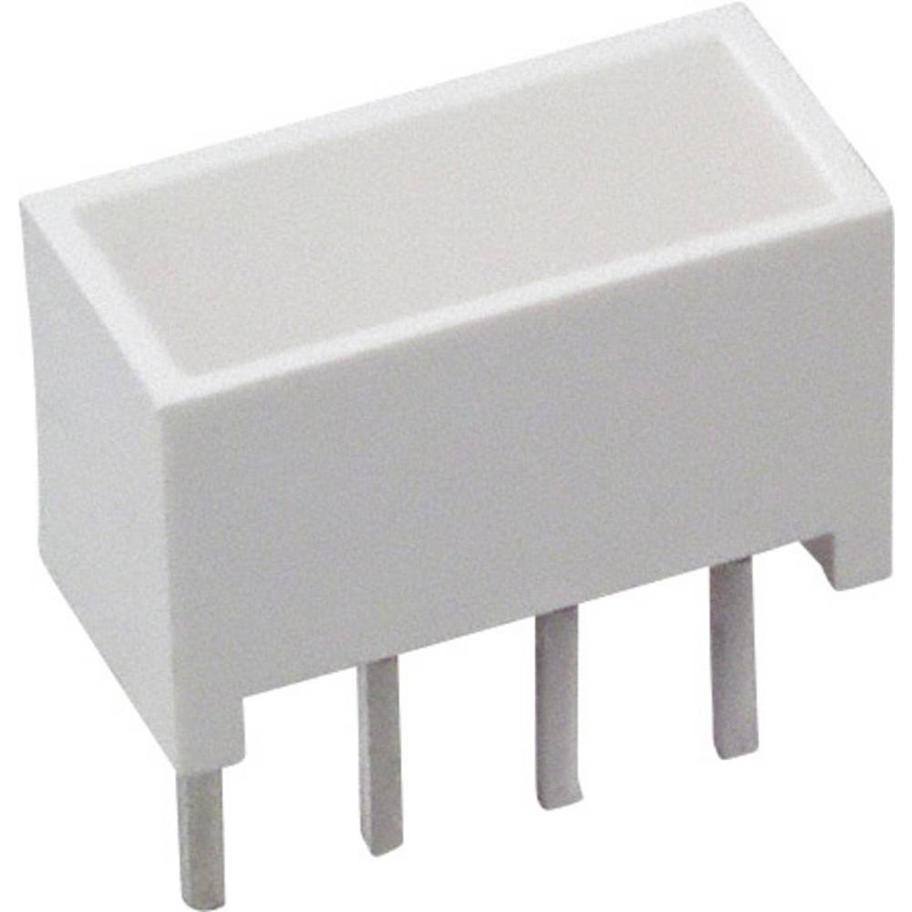LED-Baustein (value.1317427) Broadcom (L x B x H) 10.28 x 10.16 x 4.95 mm Gul