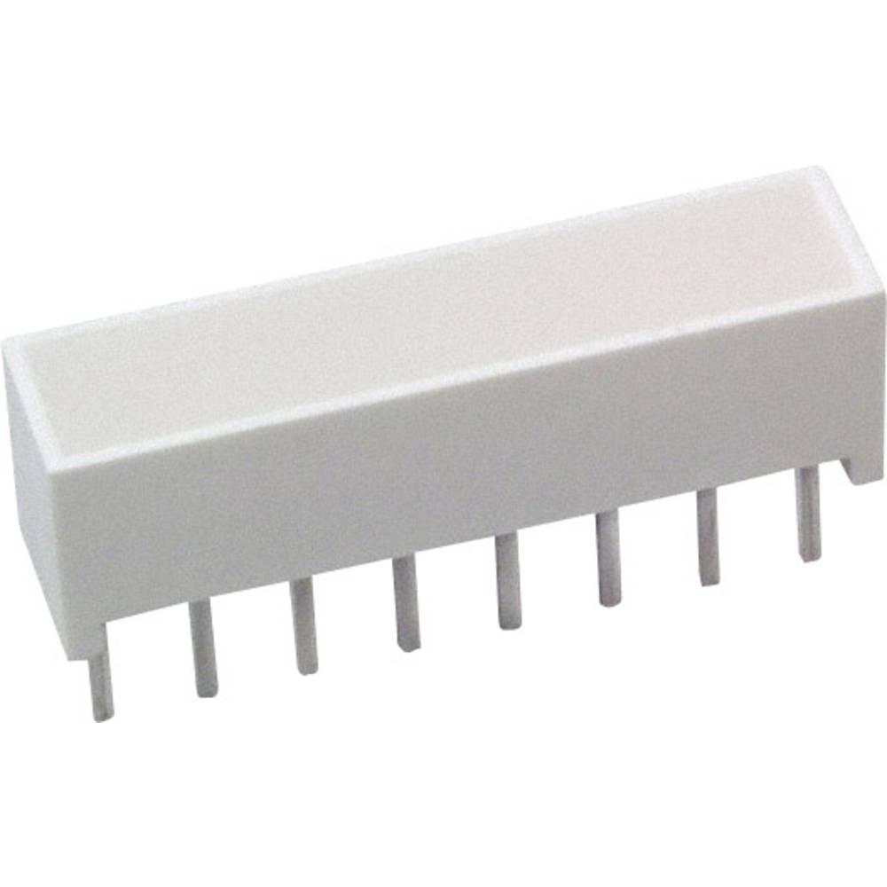 LED-Baustein (value.1317427) Broadcom (L x B x H) 20.32 x 10.28 x 4.95 mm Gul
