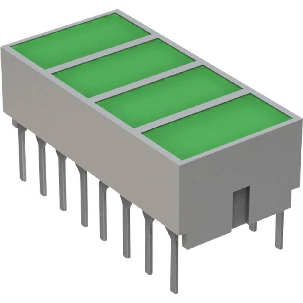 LED-komponent Broadcom (L x B x H) 20.32 x 10.28 x 10.16 mm Grøn