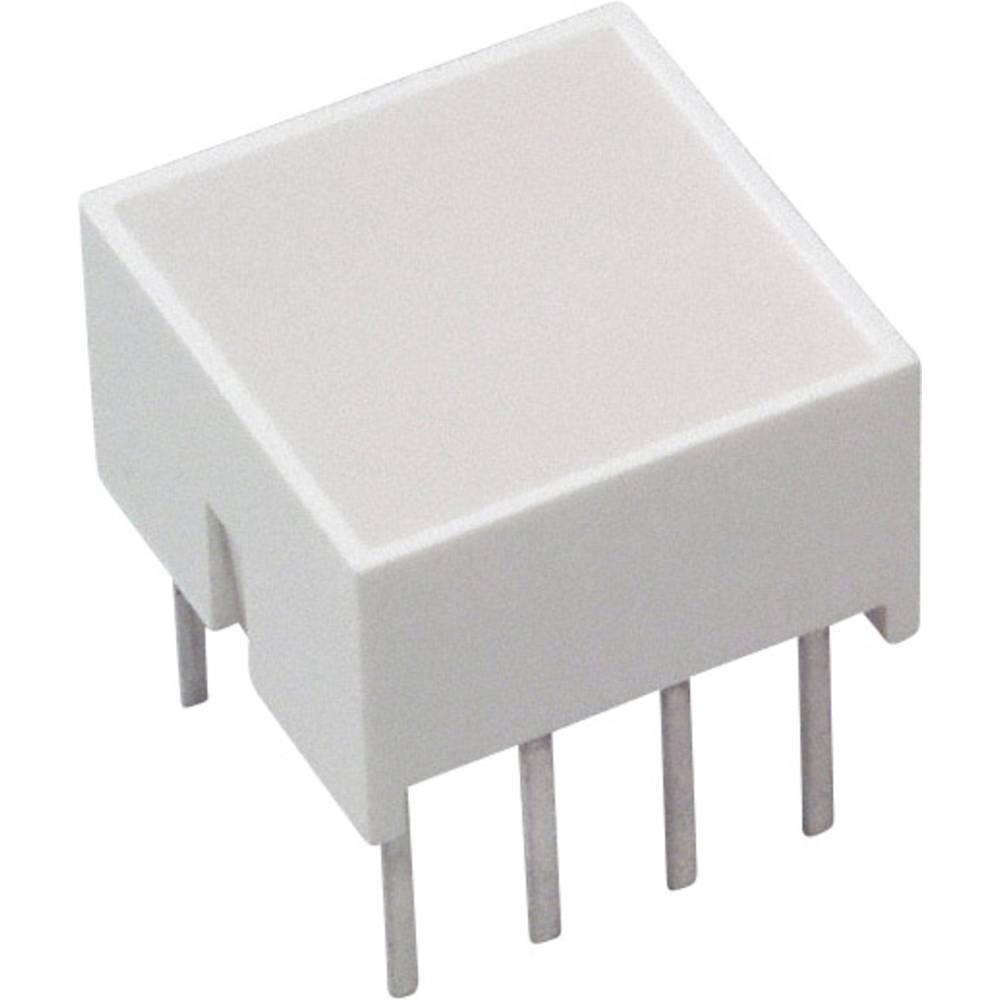 LED-komponent Broadcom (L x B x H) 10.28 x 10.16 x 10.16 mm Rød