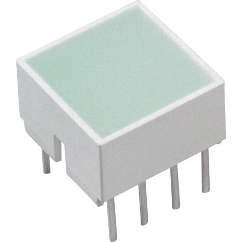 LED-Baustein (value.1317427) Broadcom (L x B x H) 10.28 x 10.16 x 10.16 mm Grøn