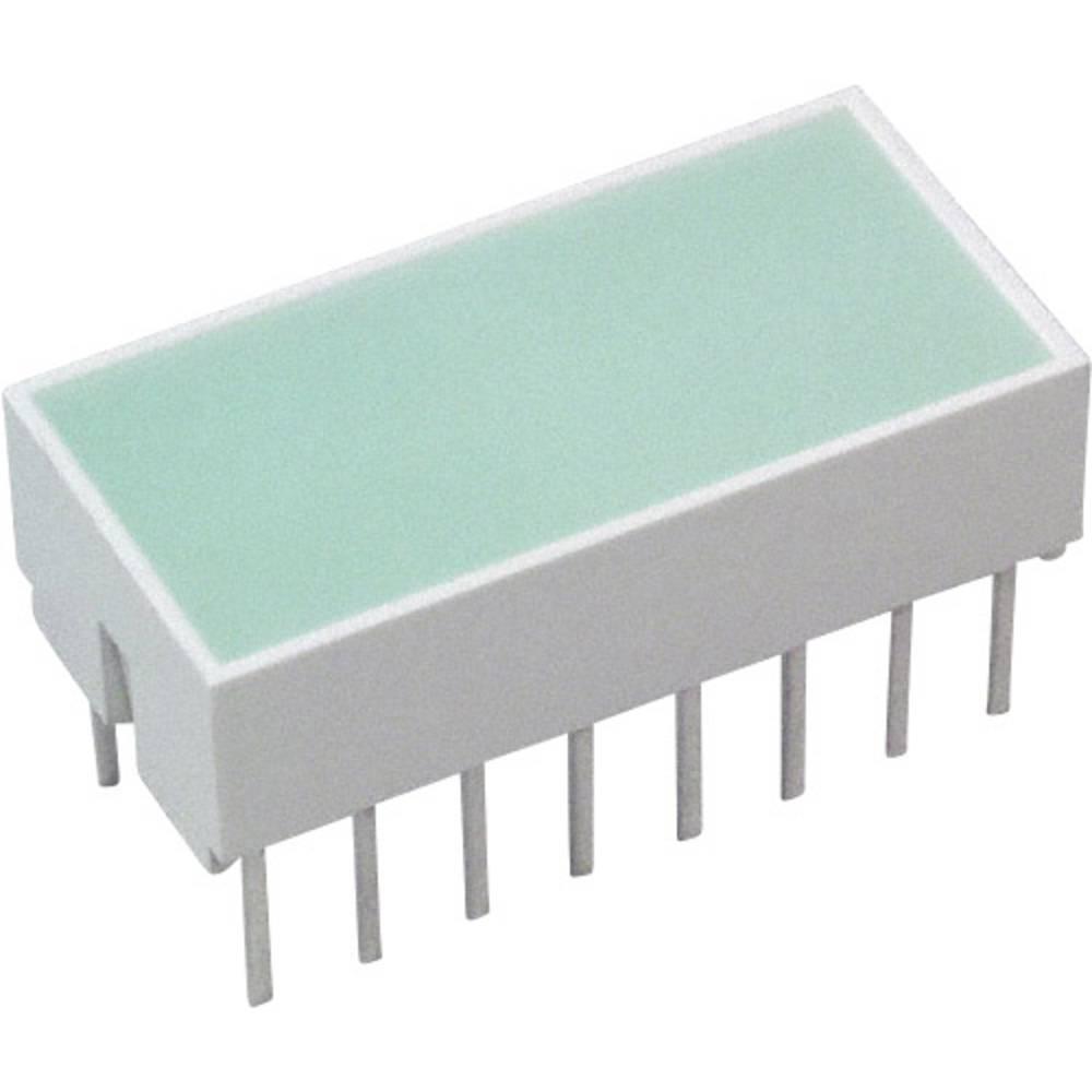 LED-Baustein (value.1317427) Broadcom (L x B x H) 20.32 x 10.28 x 10.16 mm Grøn