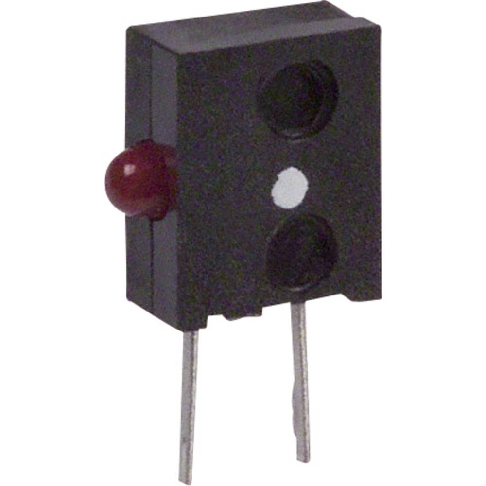 LED-Baustein (value.1317427) Broadcom (L x B x H) 11.05 x 6.6 x 2.62 mm Rød