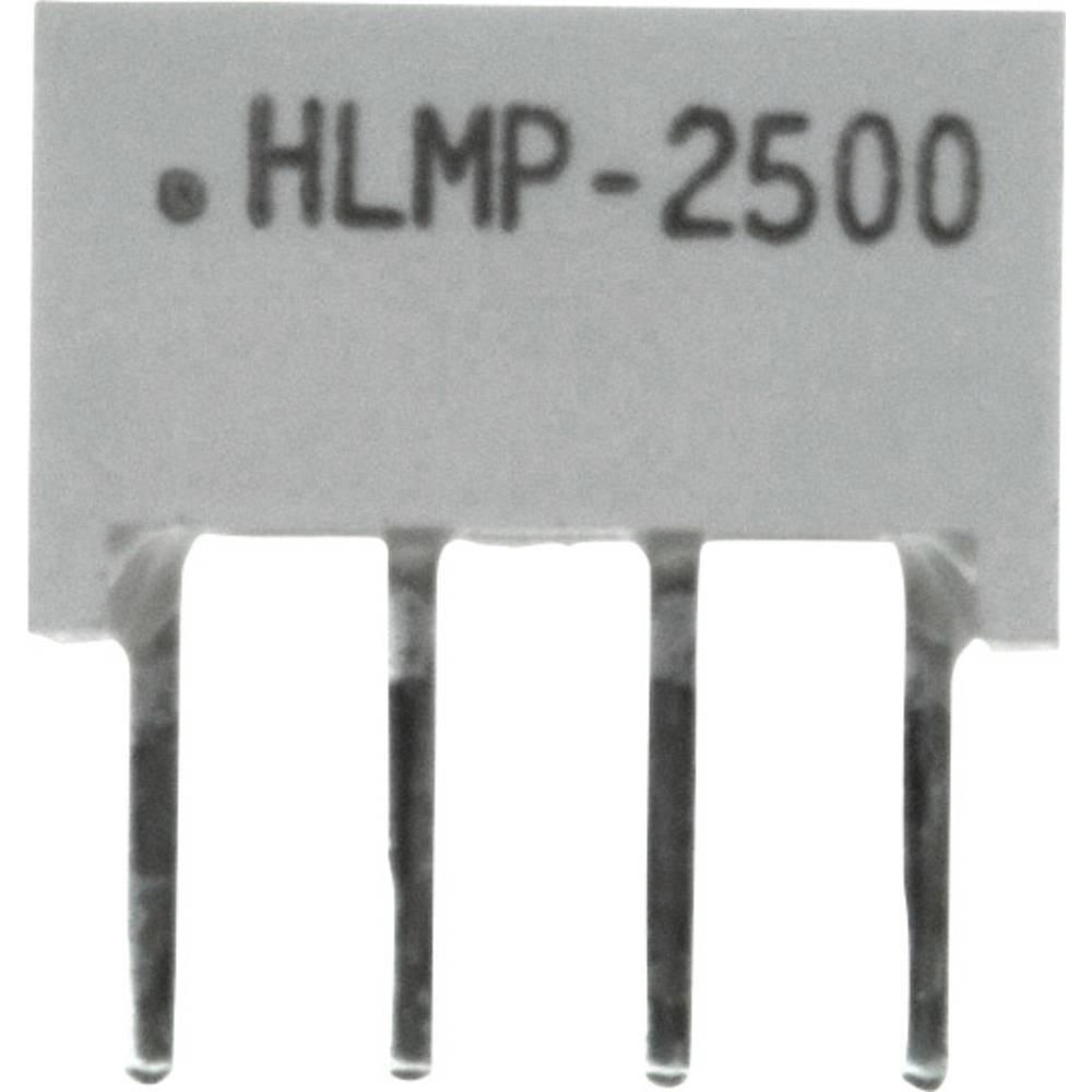 Flächen-LED (value.1317425) Broadcom (L x B x H) 10.28 x 10.16 x 4.95 mm Grøn