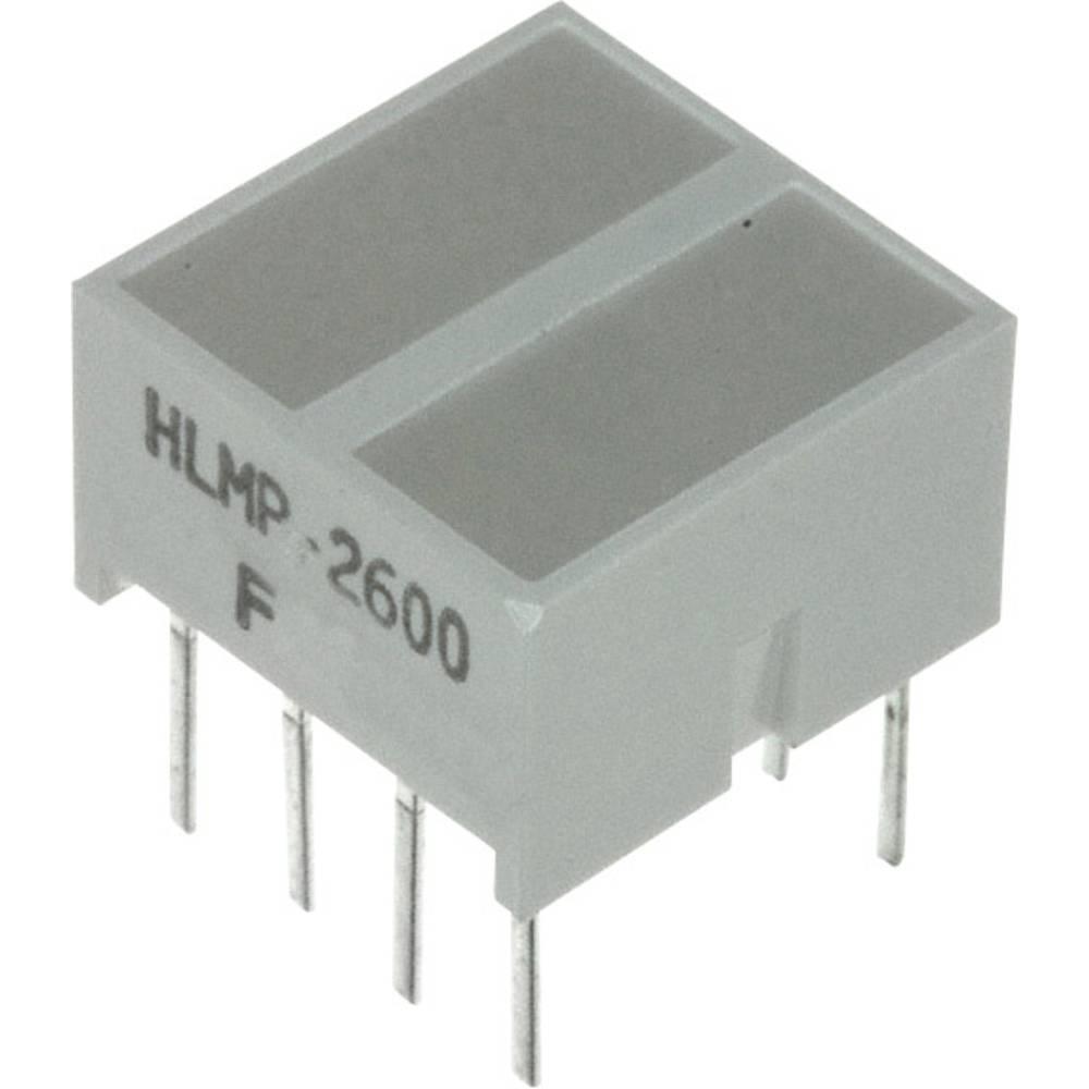LED-Baustein (value.1317427) Broadcom (L x B x H) 10.28 x 10.16 x 10.16 mm Rød