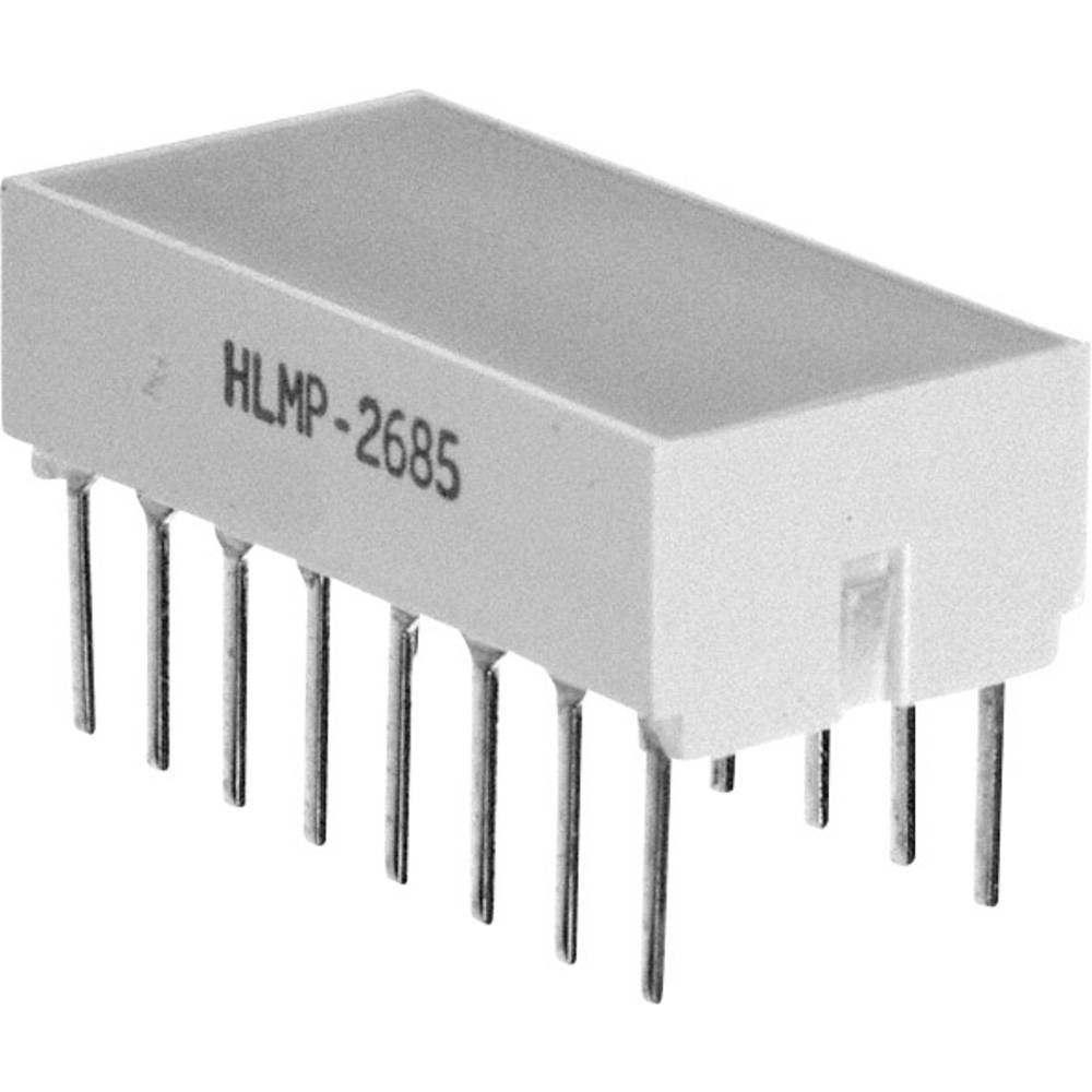 Panel-LED Broadcom (L x B x H) 10.28 x 10.16 x 10.16 mm Rød