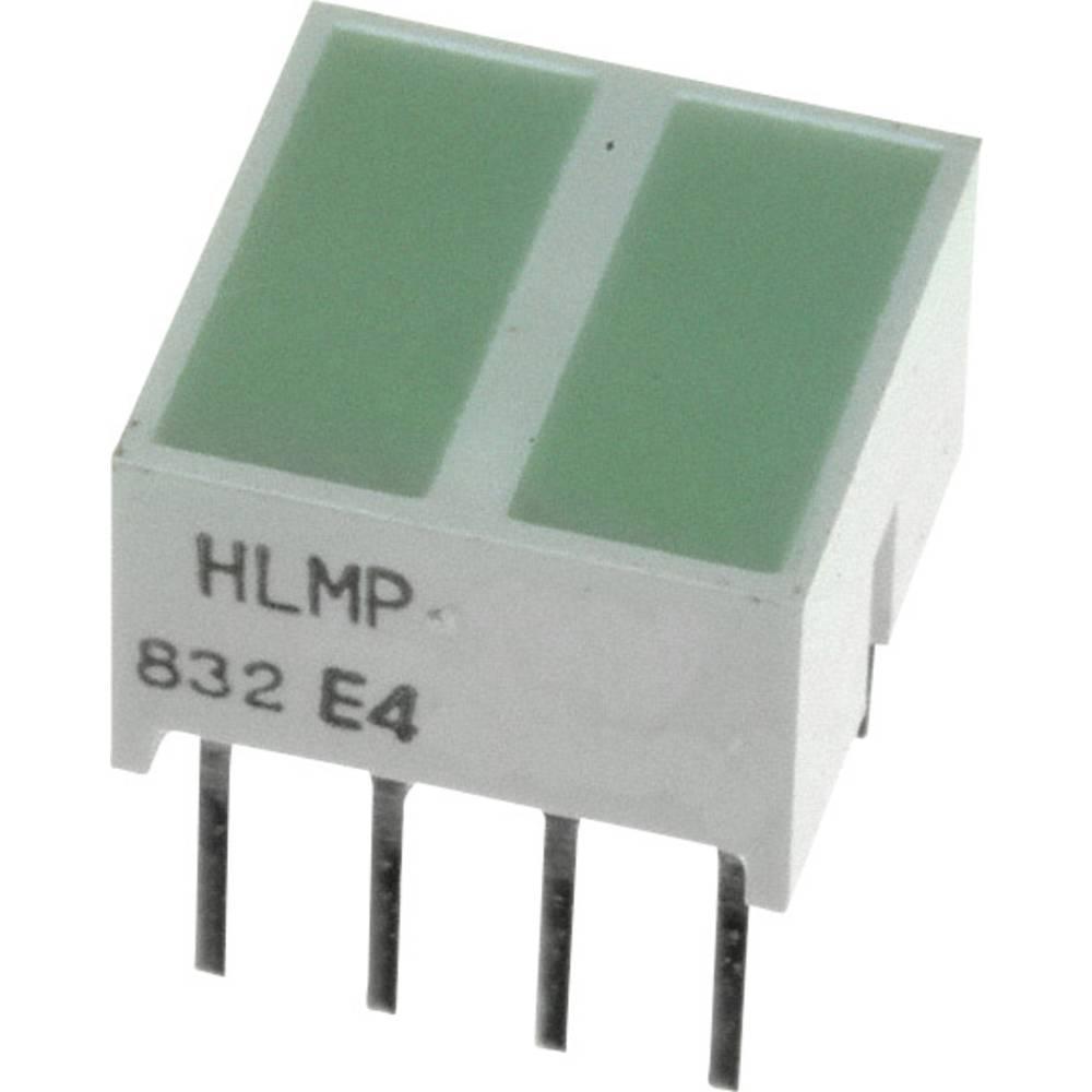 LED-komponent Broadcom (L x B x H) 10.28 x 10.16 x 10.16 mm Grøn