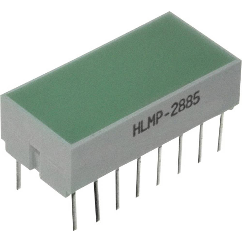 Flächen-LED (value.1317425) Broadcom (L x B x H) 20.32 x 10.28 x 10.16 mm Grøn
